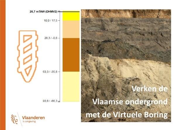 Verken de Vlaamse ondergrond met de virtuele boring