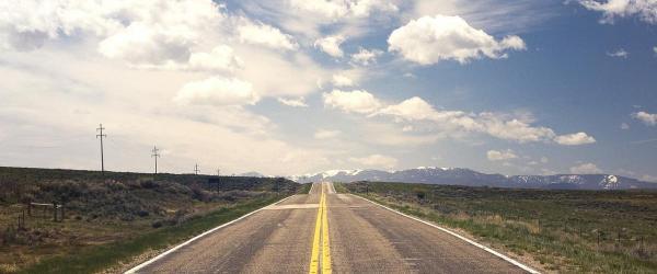 Beeld van een weg